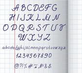 Alphabet hand written — Stock Vector