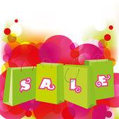 Sale shopping bags. EPS10 — Stock Vector