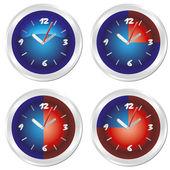 Set of timer. EPS10 — Stock Vector