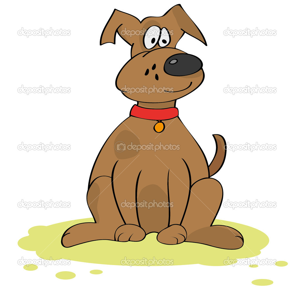 Funny dog — Stock Vector #6553896