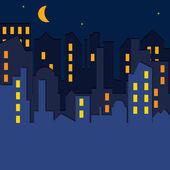 城市景观。矢量插画. — 图库矢量图片
