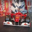 Постер, плакат: ABU DHABI UAE AUGUST 3: F1 Red Bull Racing car on display in