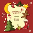 Christmas background — Stock Vector #6652235