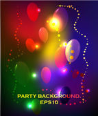 Abstract party background — Stock Vector