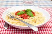 Спагетти Болоньезе — Стоковое фото