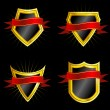 Set of Shields - Stock Vector