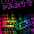 Stock Vector: Retro Party Background