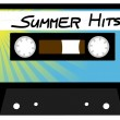 Summer Hits Tape — Stock Vector #6033254