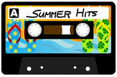 Summer Hits Tape — Stock Vector