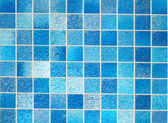 Blue Tiles in Bathroom — Stock Photo