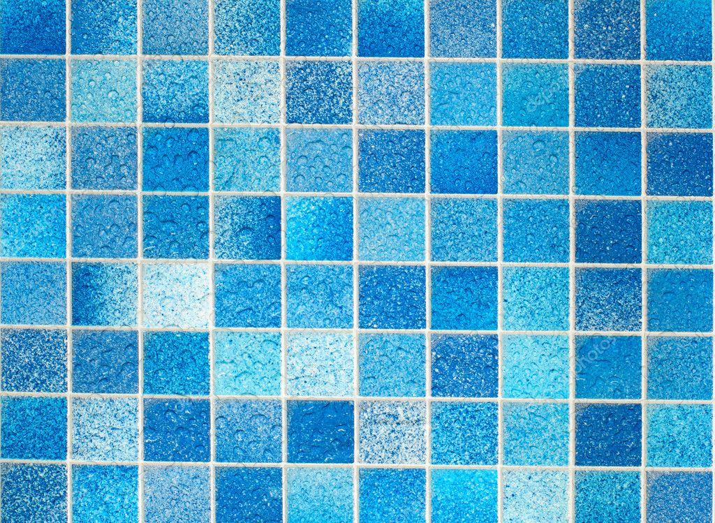 Blue Bathroom Floor Tiles Texture Blue Tiles in Bathroom With