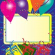 Happy Birthday Card — Stockvektor #6444094