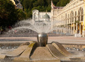 Singing Fountain, Marianske Lazne — Stock Photo