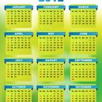 2012 Calendar — Stock Vector #6642293