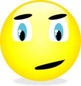矢量黄色笑脸图释. — 图库矢量图片