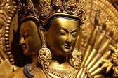 Gyllene buddha — Stockfoto