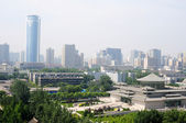 Downtown of Xian China — Stock Photo