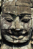 Giant buddha statue at Angkor, Cambodia — Stock Photo
