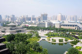 Downtown view of Xian, China — Stock Photo