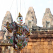 Stock Photo: Puppet at Angkor,Cambodia
