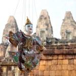 Постер, плакат: Puppet at Angkor Cambodia
