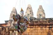 Puppet at Angkor,Cambodia — Stock Photo