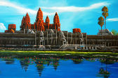 Angkor Thom at Siem Reap, Cambodia — Stock Photo