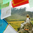 landschap in tibet — Stockfoto