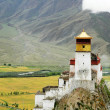 paysage au tibet — Photo