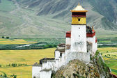 Landscape in Tibet — Stock Photo