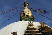 Landmark in Kathmandu, Nepal — Stock Photo