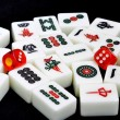 Chinese mahjong - Stock Photo