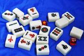 Chinese mahjong — Stock Photo