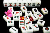Chinese mahjong — Stock Photo