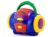玩具无线电 — 图库照片