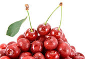Heap of cherry fruits. — Stock Photo
