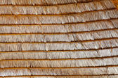 Texture of hay stack roof in Thailand — Stock Photo