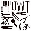 Various Tools - Stock Vector