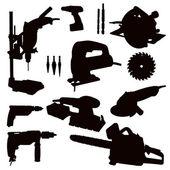 Power Tools — Stock Vector