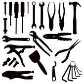 Various Tools — Stock Vector