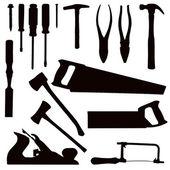 Woodwork Tools — Stock Vector