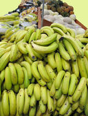 Fruit Stand with Bananas — Stock Photo