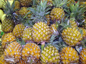 Ripe pineapples — Stock Photo