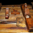 19th Century Wood Work Tools — Stock Photo #6145638