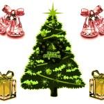Christmas Card VB — Stock Vector #6606132