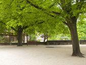 在城堡公园 — 图库照片