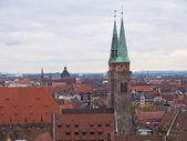 Nuremberg roofs — Stock Photo