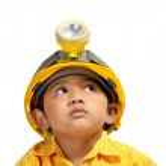 Engineer Boy — Stock Photo