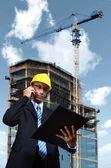 Construction Engineer — Stock Photo
