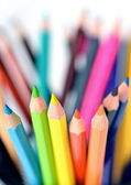 Kleurrijke potloden — Stockfoto